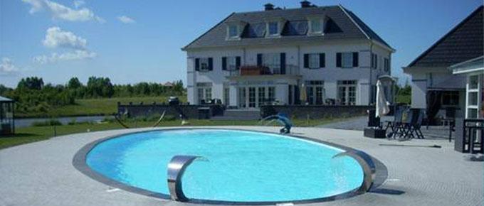 Info over bouwkundige zwembaden for Inbouw zwembad zelf bouwen